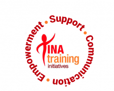 Tina Training Initiatives logo